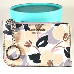 Kate Spade Card Wallet with Key Ring